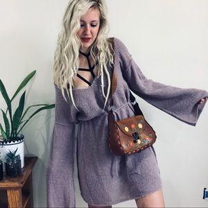 FP Violet Sweater Dress